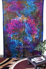 Twin Indian Star Hippie Wall Hanging Psychedelic Mandala Tapestry Tie Dye Throw
