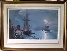 John Stobart, ENGLISH, Born in 1929, SAVANNAH MOONLIGHT, Ltd. Ed & Signed