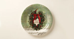 """Christmas Carol Paper Party Plates Christmas, choose 7"""" or 10"""" , 8 per pack"""