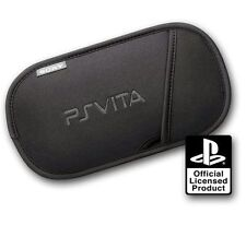 NEW SONY PLAYSTATION VITA PS OFFICIAL SOFT CARRY SLIP CASE HOLDER PSV POUCH