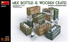 MINIART 35573 Milk venduta & wooden crates in 1:35