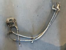 Emergency / Hand brake Linkage, Mounts, and Cable  off Datsun 280Z. —(T2-20)