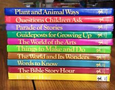 Child Horizons 10 Book Complete Set Lot, Complete, Christian Home School