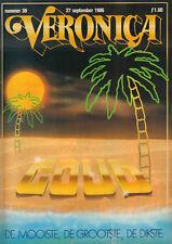 VERONICA 1986 nr. 39 - TOON VAN DRIEL / STAR SISTERS / TINEKE SCHOUTEN / NEWMAN
