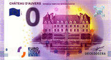 95 AUVERS-SUR-OISE Château, N° de la 3è liasse, 2016, Billet 0 € Souvenir