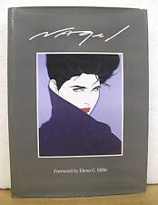 Nagel - The Art of Patrick Nagel with Foreword by Elena G. Millie 1985 HB/DJ