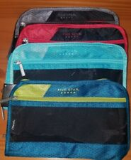 FIVE STAR XPANS PENCIL POUCH ZIPPER MULTIPLE COLORS NEON BLUE RED BLACK