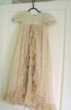 BEAUTIFUL VINTAGE BABY/DOLL CHRISTENING GOWN.