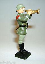 Lineol, Pistonbläser, Stand-Musiker, 7,5 cm, Nachkriegsproduktion, sehr gut erh