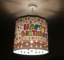 SPARE! Happy Birthday Decoration Lamp shade ( Magnetic Set NOT INCLUDED!)