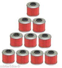 Lot de 10 Filtres a huile HONDA 250 450 CRF CRE X HM HUSQVARNA TE TC Neuf