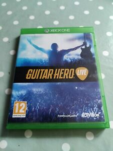 Guitar Hero Live Xbox One Video Game **GAME ONLY**