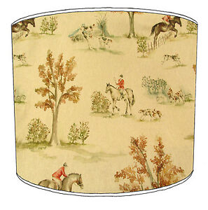 Lampshades Ideal To Match Equestrian Horses Wallpaper Cushions Bedding Decals