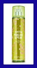 Bath & Body Works~Toasted Praline & Pear~Fine Fragrance Mis ~8 fl oz
