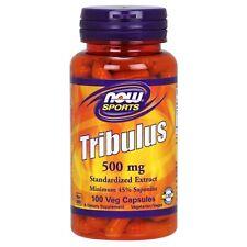 NOW Foods Tribulus 500 MG - 100 Végétarien Capsules Frais Fabriqué En USA