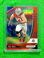 JOEY BOSA PRIZM CARD JERSEY #97 OSU CHARGERS 2020 Prizm DP SP REFRACTOR ORANGE