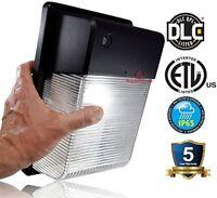 LED Wall Light - Dusk to Dawn Photocell option - 2700 Lumens -UL DLC 5000K 3000K