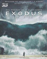 Blu-ray 3D + Blu-ray 2D «EXODUS ♦ DEI E RE» ediz. Speciale slipcase nuovo 2015