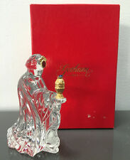 Gorham Crystal Nativity Kneeling King Balthazar 24K Gold Plated Figurine Germany