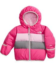 NWT-THE NORTH FACE INFANT GIRLS MOONDOGGY 2.0 JACKET PETTICOAT PINK 12-18 MONTHS