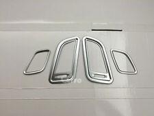 Interior A/C Heat Air Vent End Cover Plated 4pcs fit Hyundai Sonata 2015-2016
