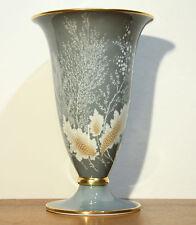 Rosenthal Art Deco Vase Selb Plössberg Porzellan Modell Raureif 29 cm