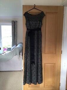 Tiffany Rose Maternity Evening Dress. Size 3 UK 12.