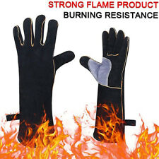 Fire-resistant And Heat-resistant Glove Leather for Fireplaces Stoves Ovens MG
