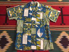 Vintage Royal Hawaiian Aloha Shirt Made in Hawaii Medium!