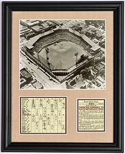 St. Louis Cardinals old Sportsman's Park framed last game photo tribute