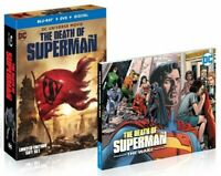 DCU DC Universe: Death of Superman (Blu-Ray + DVD + Digital + Hardcover Novel)