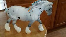 BREYER  LEOPARD APPALOOSA Draft horse Custom