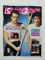 RARE CIAO 2001 N. 2 1986 + POSTER PREFAB SPROUT TALK TALK ALARM GO WEST