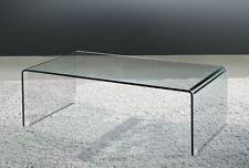Glass Waterfall Style Coffee Table
