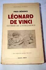 LEONARD DE VINCI-BERENCE-1938-PAYOT-ILLUSTRE