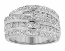 Diamond Anniversary Band In Platinum 2.25 Ct. Tw Comfortable Fit Round
