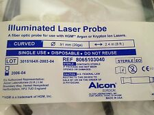 Alcon Curved Illuminated Laser Probe 8065103040 HGM new
