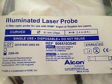 Alcon Curved Illuminated Laser Probe 8065103040 Hgm New