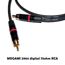 Mogami 2964 Digital SPDIF cavo audio alta qualità HiFi RCA 75OHM Neutrik per DAC