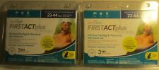 2X Tevrapet Firstact plus for dogs 3 mth supply 23-44 lbs compares to Frontline