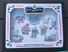 DISNEY SILLY SYMPHONY 90TH ANNIVERSARY LIMITED EDITION PIN SET - COOKIE CARNIVAL