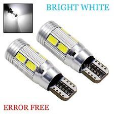 BMW E46 E90 E91 E87 E53 XENON BRIGHT WHITE LED SIDELIGHT BULBS ERROR FREE 10SMD