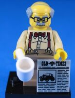 LEGO® Collectible Minifigures Series 10 GRANDPA #8 100% Official Lego NEW