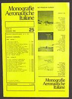 Aeronautica Monografie Aeronautiche Italiane N° 25 - 1982 - Beechcraft C 45