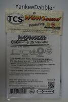 TCS {KOD8-A} K0D8-A 1332 KOD8-A DCC DECODER TRAIN CONTROL SYSTEMS YANKEEDABBLER
