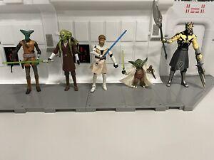 "Star Wars The Clone Wars Lot Of 4, 3.75"" Hasbro"