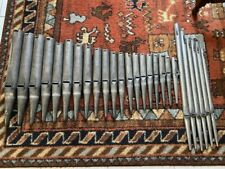 Orgelpfeifen, 26 Stück, 8' Diskantflöte