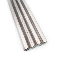 Us Stock 4pcs 03158mm 12 Long Stainless Steel Hexagonal Hex Bar Rod Shaft