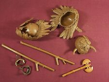 Vintage Indian Action Figure Accessories Lot