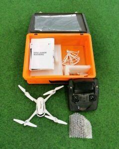 The Hubsan FPV X4 Desire Drohne Weiß mit Koffer Kamera Angeln Videoaufnahme Foto
